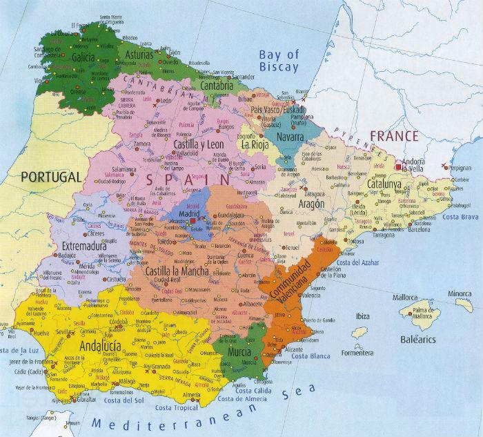 Tourisme en Espagne Informations touristiques concernant l