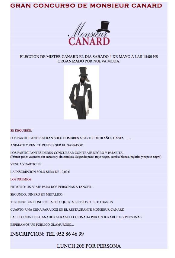Monsieur Canard