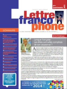 Lettre Francophone
