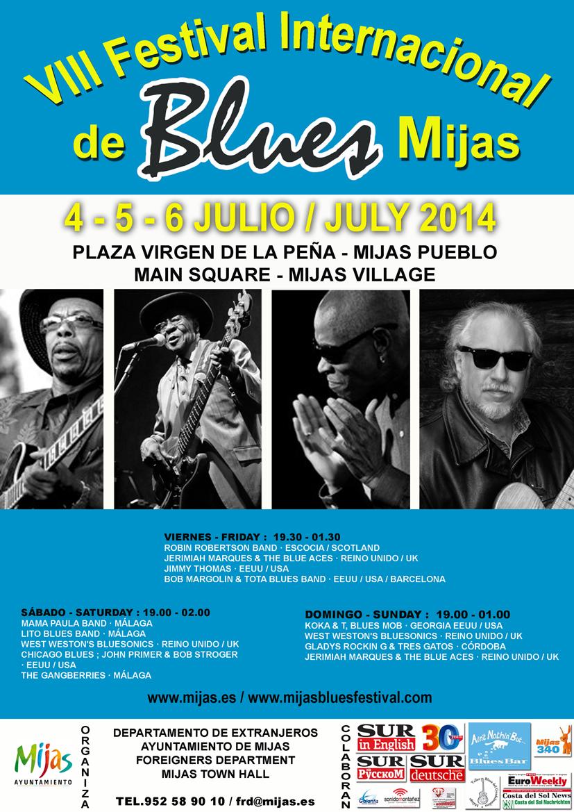 FESTIVAL DE BLUES MIJAS 2014