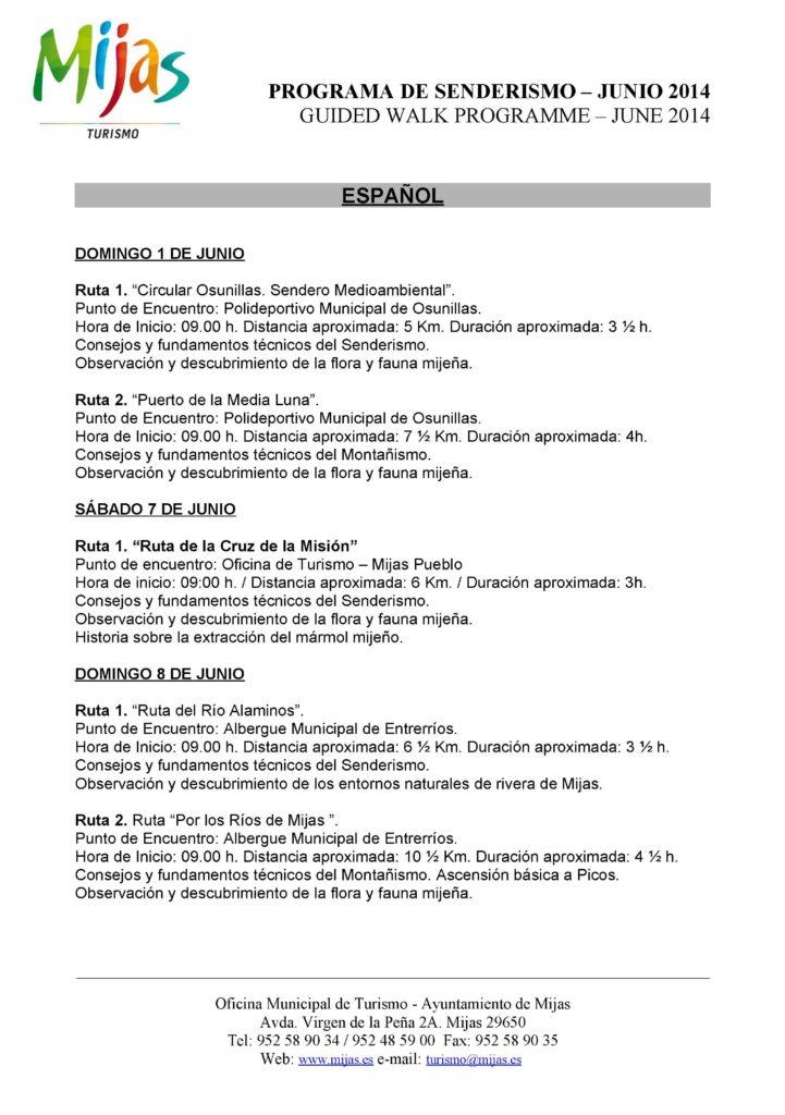 PROGRAMA DE JUNIO