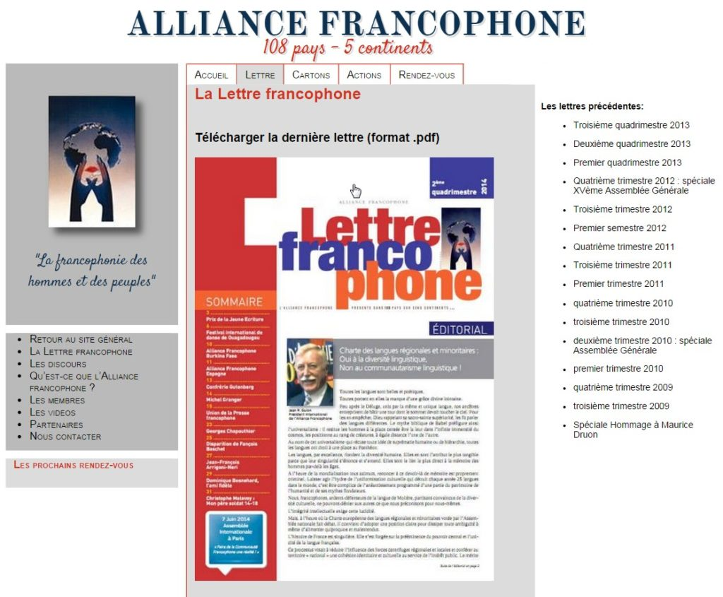 Alliance Francophone