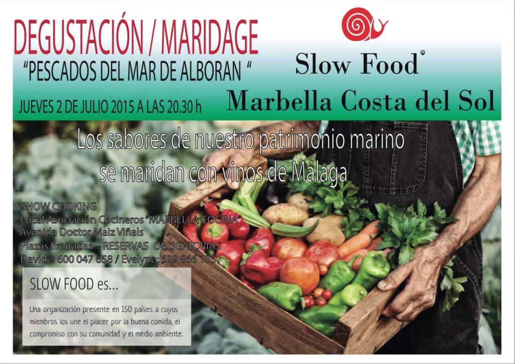 Cartel pescado Alboran