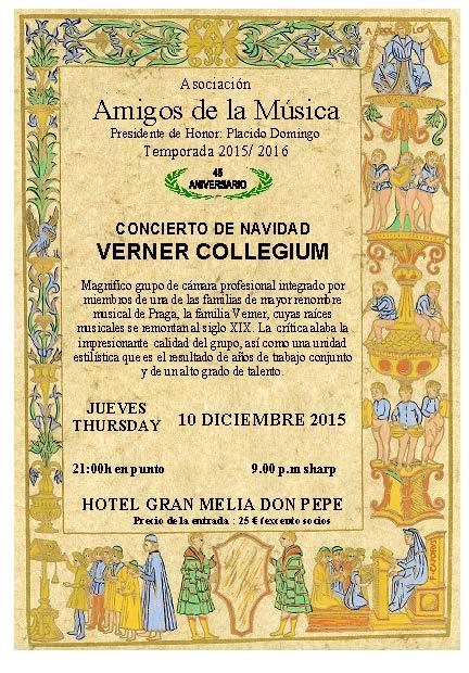 Concierto - Concert Amigos de la Música