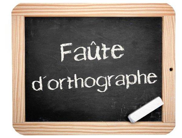 Orthographe