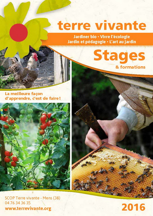 Stages Terre vivante 2016