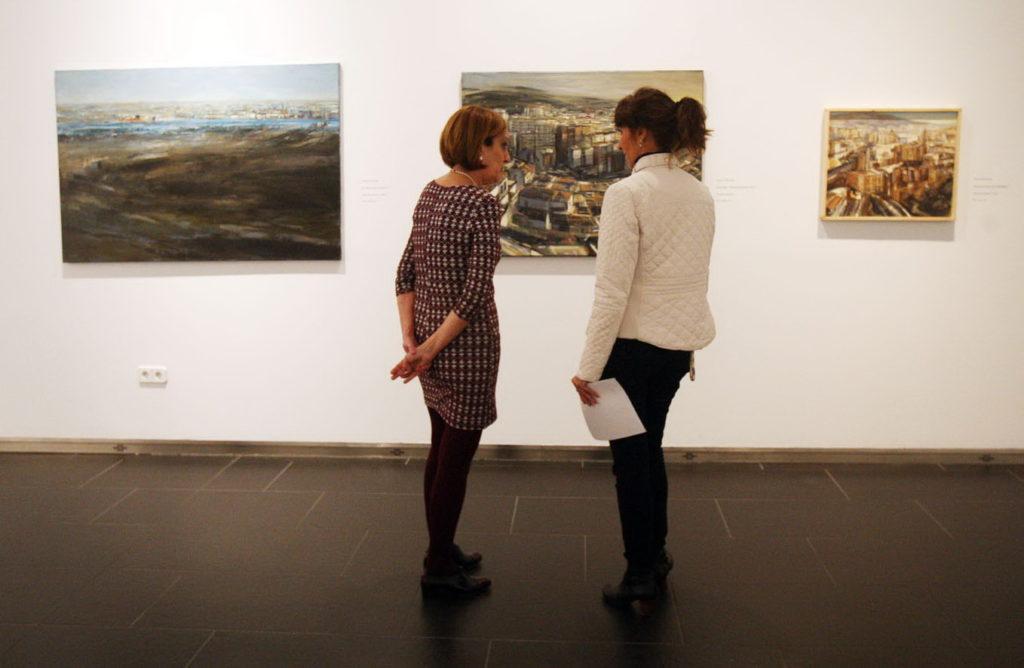 Exposición Tres Visiones Contemporáneas