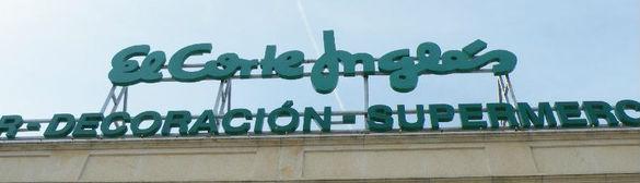 Shopping – El Corte Inglés