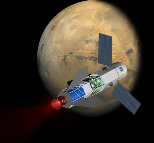 Spacecraft mars