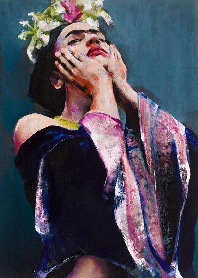 Frida Kahlo by Lita Cabellut