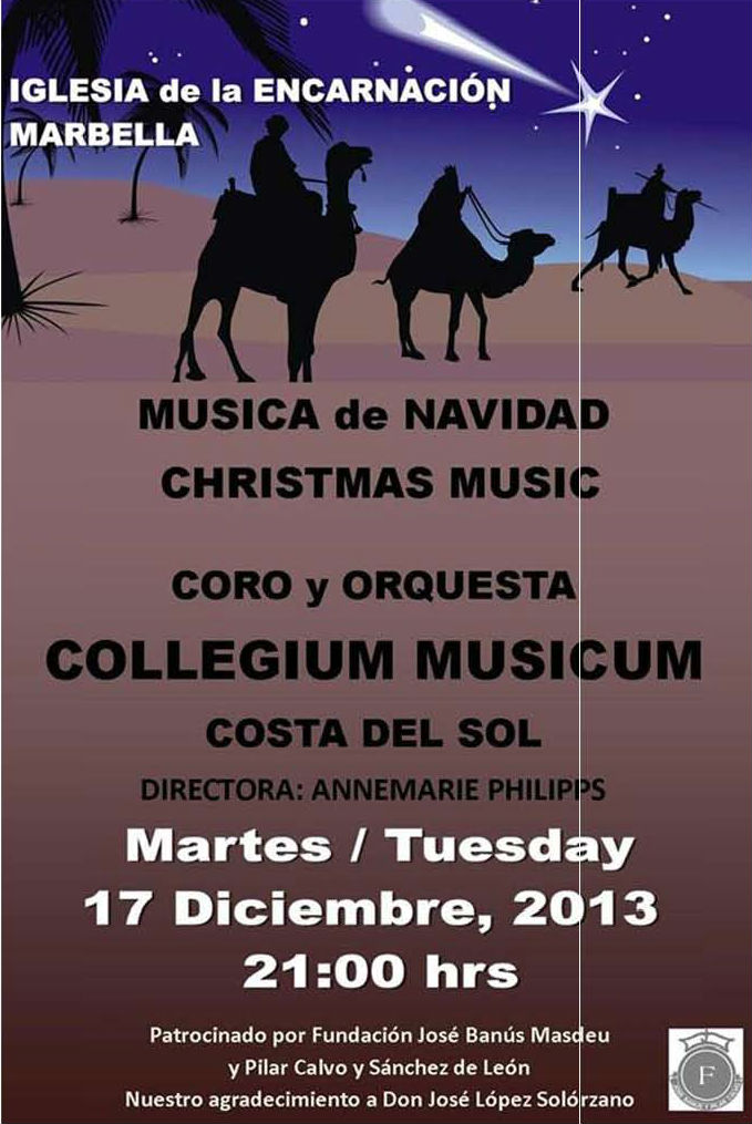 Concert de Noël à Marbella