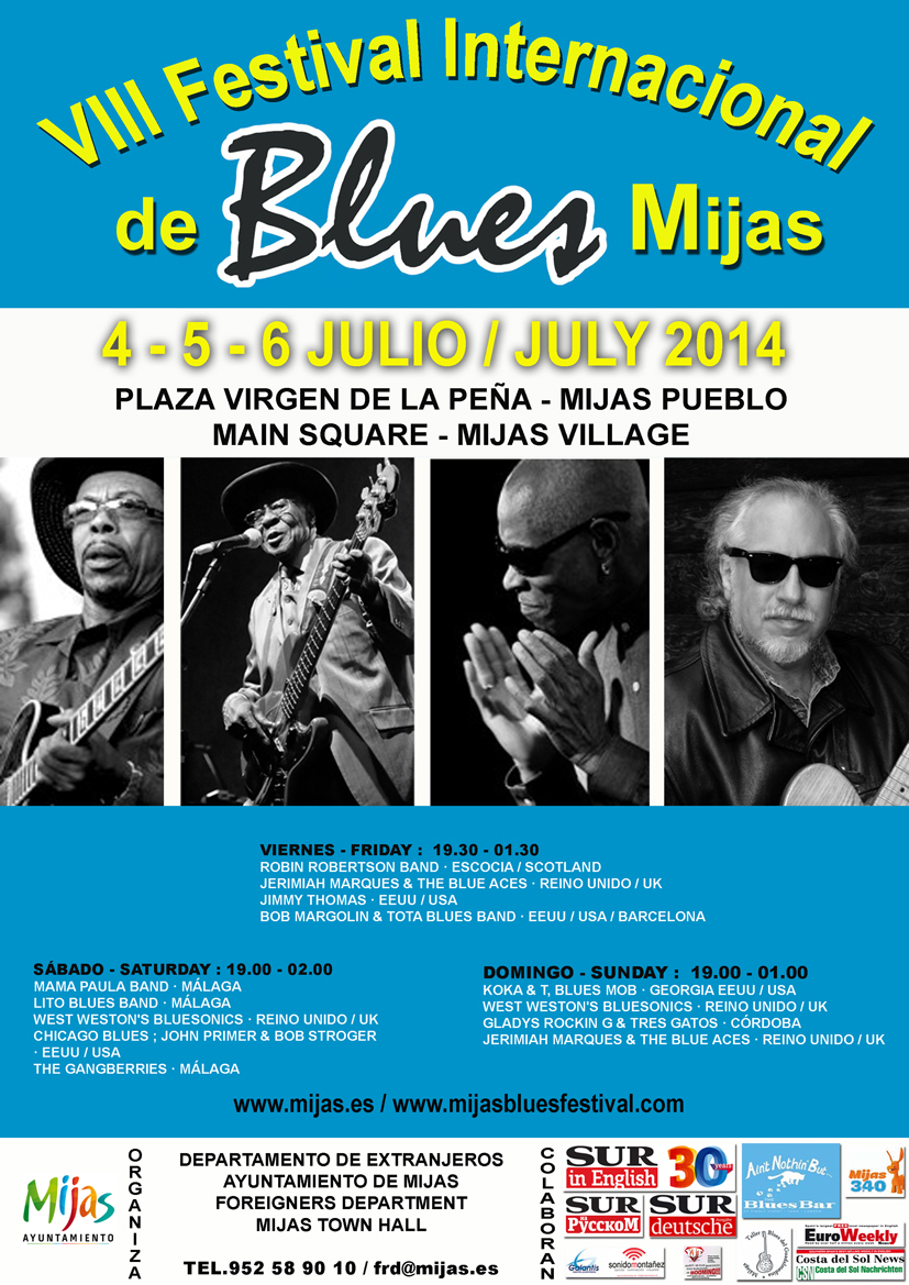 FESTIVAL DE BLUES MIJAS 2014