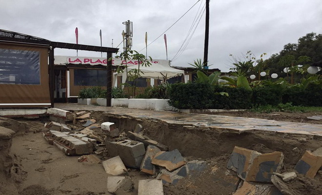 Casanis Plage, Macaao: Après le déluge…