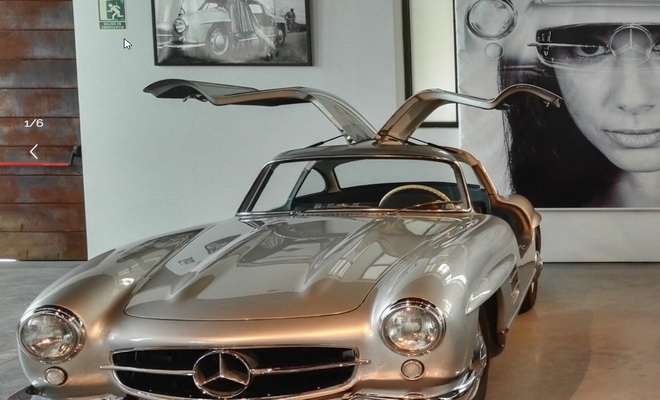 Le Musée de l'Automobile de Malaga