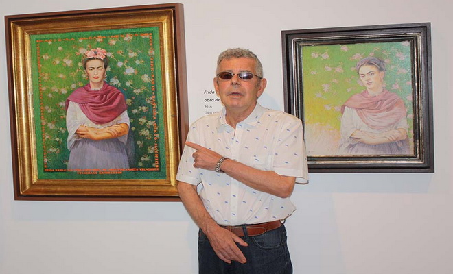 Fausto Velázquez réinterprète Frida Kahlo
