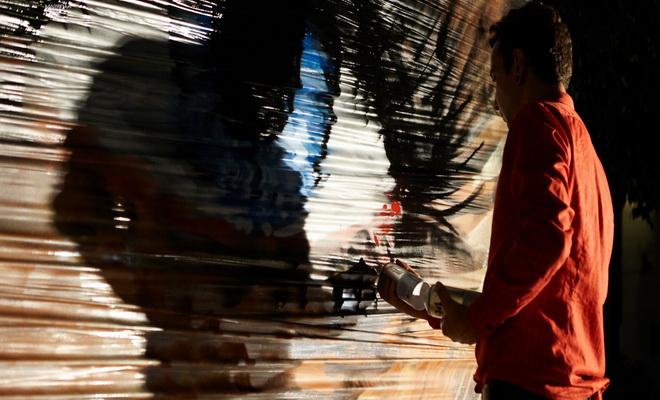 """""""Street artist"""" Victoriano"""