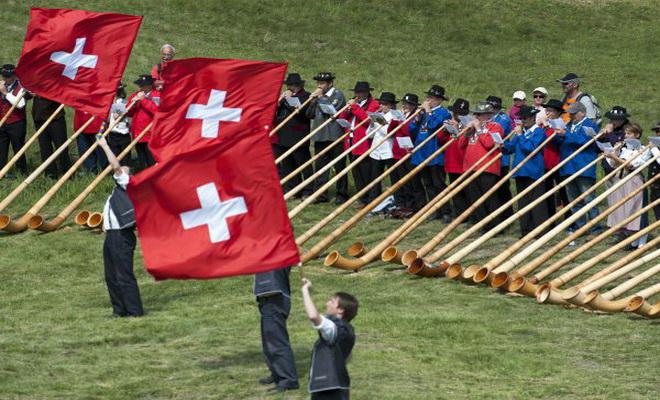 1er Août: fête nationale suisse