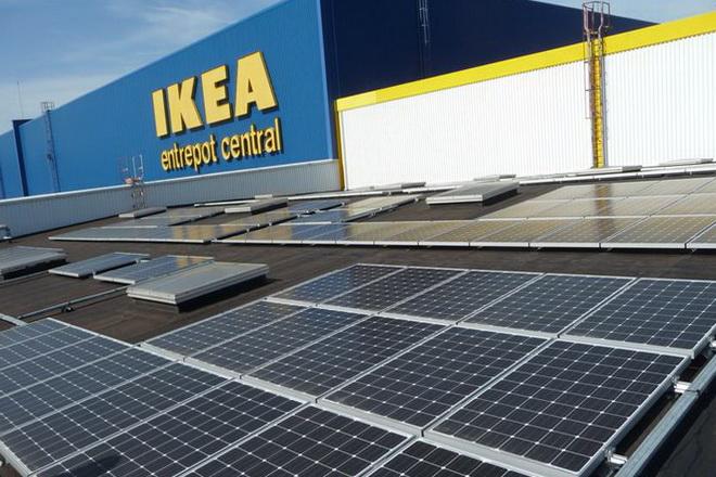Ikea se lance dans la vente de panneaux solaires