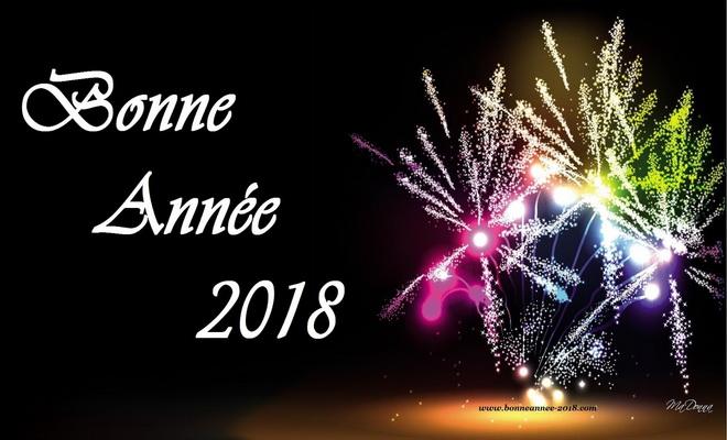 Bonne et heureuse Nouvelle Année 2018!