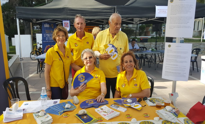 Les Lions Clubs, présents à Marbella