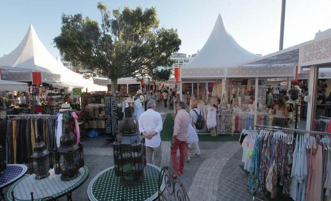 Inauguration du marché artisanal de Puerto Banus