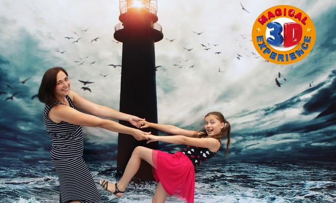 Puerto Banus accueille l'experience 3D magique