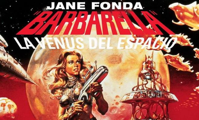 """""""Barbarella""""au cinéma d'été du musée Picasso de Malaga"""
