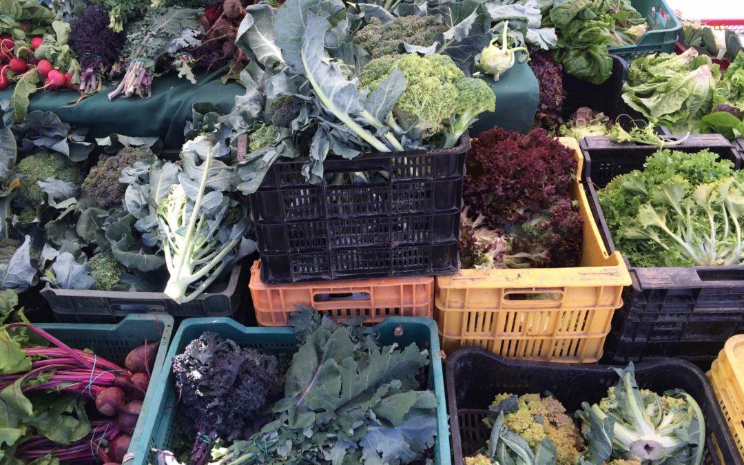 Fruits & légumes frais à la maison